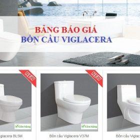 Update bảng báo giá bồn cầu Viglacera MỚI – Chiết khấu CAO nhất 2018