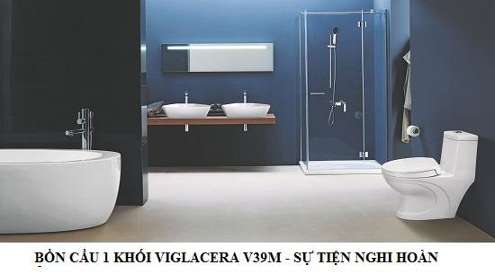 bồn cầu một khối Viglacera V39