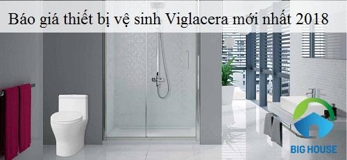 báo giá thiết bị vệ sinh viglacera