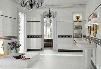 Cách ốp gạch tường nhà vệ sinh, kỹ thuật phối màu chuẩn xác