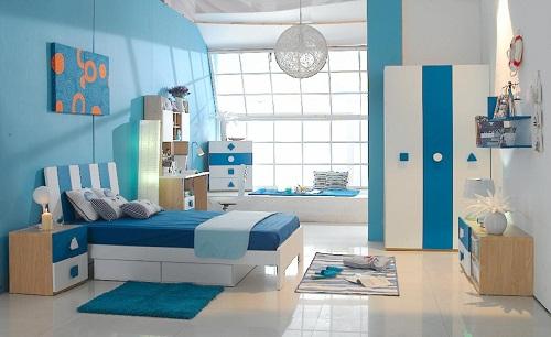Cách phối màu gạch lát nền với màu tường