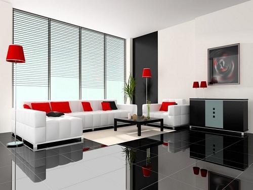 Cách phối màu gạch lát nền, gạch ốp tường hài hòa cho các không gian