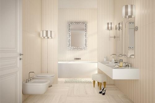 chọn gạch ốp lát nhà tắm theo màu sắc