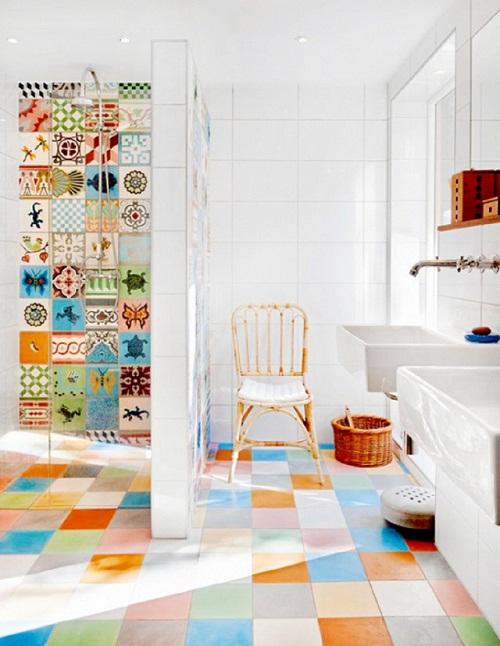 cách chọn gạch ốp lát phòng tắm