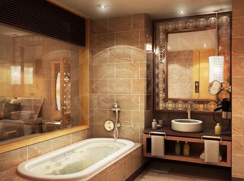 gạch ốp lát phòng tắm đẹp