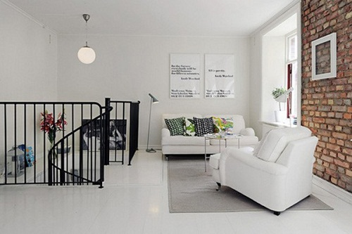 Cách phối màu gạch ốp tường phòng khách và gạch nền CHUẨN nhất