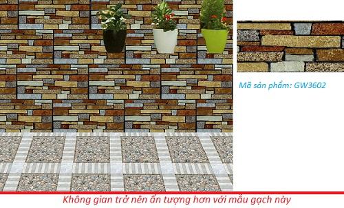 Gạch giả cổ ốp tường ViglaceraGW3602