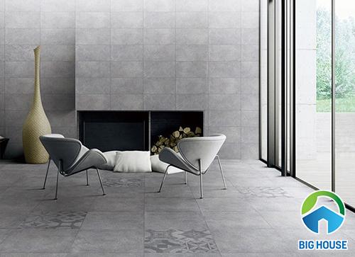 cách phối màu gạch lát nền với gạch ốp tường 01