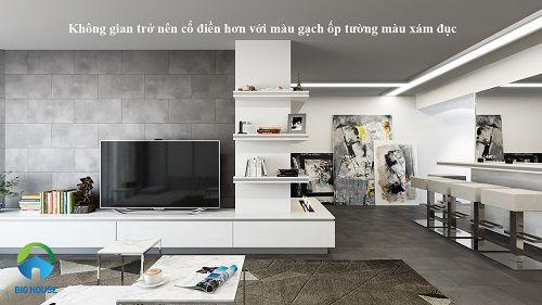 gạch ốp tường phòng khách giá rẻ