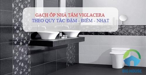 gạch ốp nhà tắm viglacera