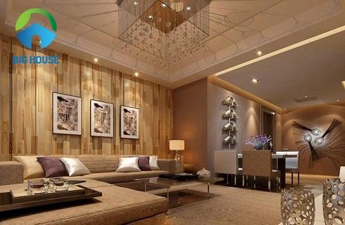 Mẫu gạch ốp tường phòng khách Viglacera Đẹp – Giá Rẻ nhất 2018