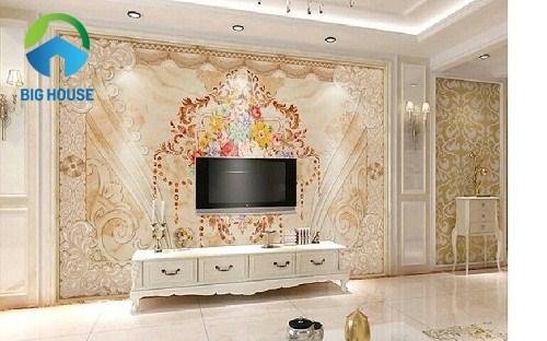 gạch ốp tường phòng khách viglacera 7