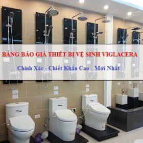 Bảng giá thiết bị vệ sinh Viglacera 2018 – Chiết khấu cao nhất Việt Nam