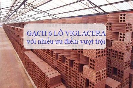 Gạch 6 lỗ Viglacera – Gạch xây chống nóng HIỆU QUẢ VƯỢT TRỘI