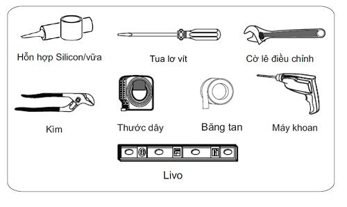 cách lắp đặt bồn cầu viglacera
