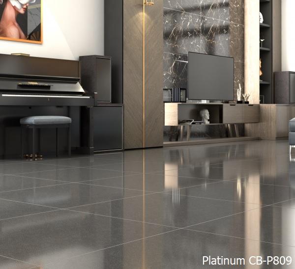 Gạch bóng kính Viglacera 80x80 CB-P809 chất liệu granite cao cấp hiện đại