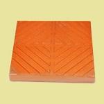 Gạch đỏ cotto hình lá dừa