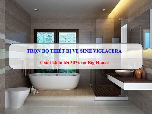 TRỌN BỘ thiết bị vệ sinh Viglacera: Bồn cầu, chậu rửa, sen vòi… Chính Hãng