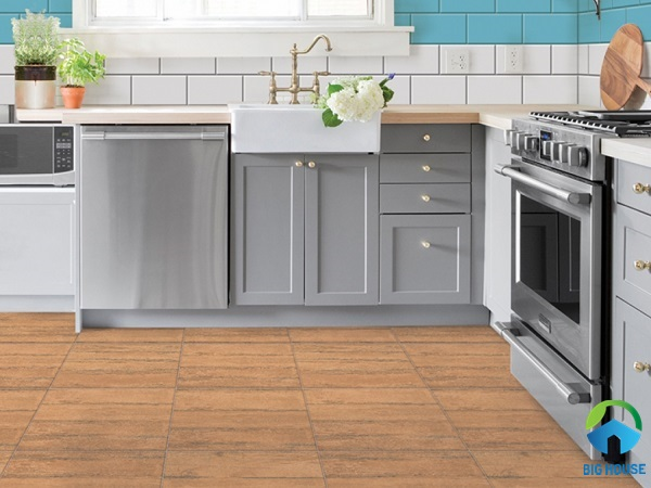 Mẫu gạch vân gỗ Prime 08264 bề mặt nhám chống trơn cực tốt