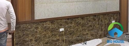 mẫu gạch ốp chân tường giả đá