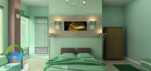 cách phối màu sơn tường và gạch nền