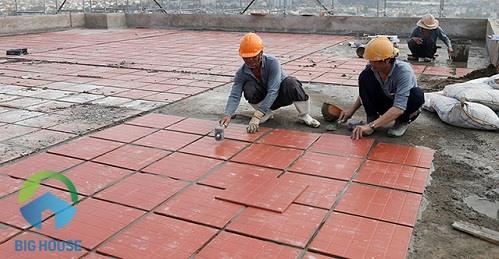 gạch chống nóng mái bằng 1