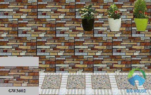 gạch ốp tường ngoại thất viglacera 2