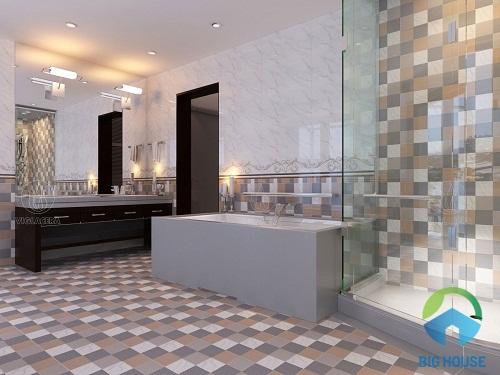 mẫu gạch ốp nhà tắm