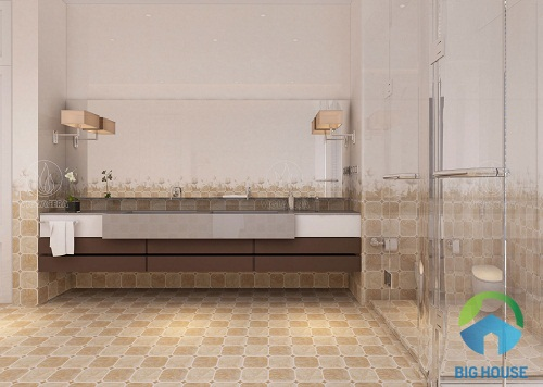 mẫu gạch ốp nhà tắm đẹp