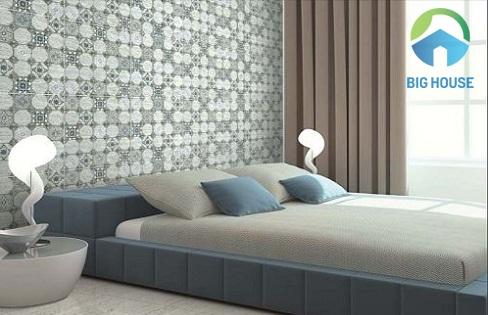 gạch ốp tường phòng ngủ Viglacera