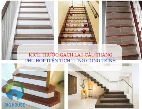 2 Cách chọn kích thước gạch lát cầu thang phù hợp cho mọi công trình