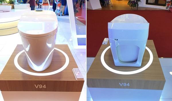 Kiểu dáng bồn cầu Viglacera V94 sang trọng và hiện đại