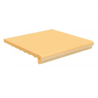 Gạch bậc thềm màu kem vàng Viglacera Hạ Long