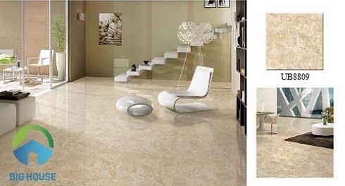 Mẫu gạch lát nền Viglacera 80x80 cho phòng khách