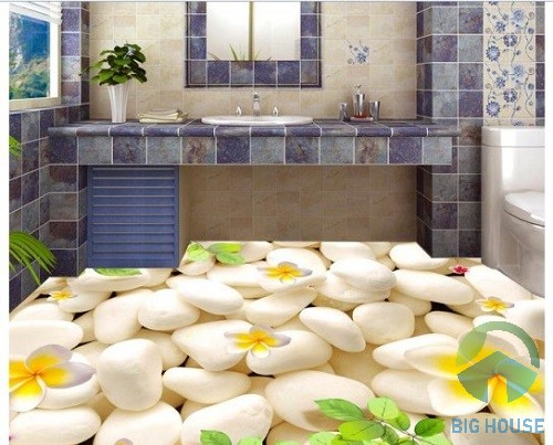 gạch lát nền phòng tắm 3d 1