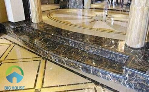 gạch ốp bậc tam cấp cầu thang