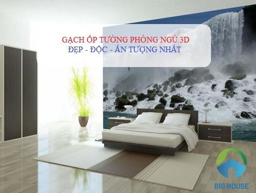 100 Mẫu gạch ốp tường phòng ngủ 3D – Chân Thực trên từng viên gạch