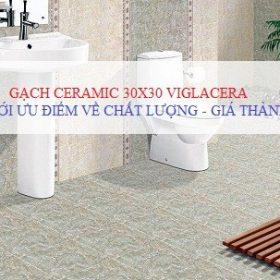 Ưu điểm vượt trội của gạch Ceramic 30×30 Viglacera cho phòng tắm hiện đại