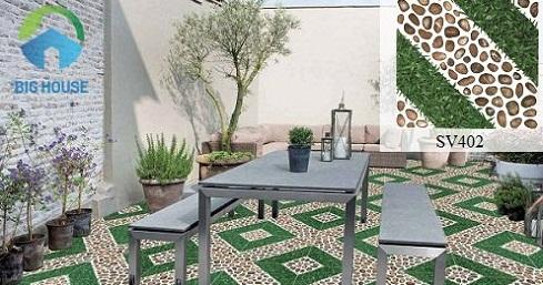 mẫu gạch lát sân vườn Viglaera SV402