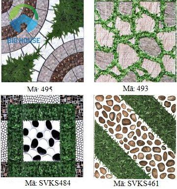 các mẫu gạch lát sân vườn đẹp