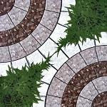 giá gạch lát sân vườn viglacera 1