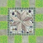 giá gạch lát sân vườn viglacera 6