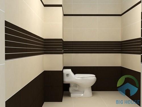 cách phối màu gạch nhà tắm đẹp