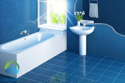 nguyên tắc phối màu gạch nhà vệ sinh