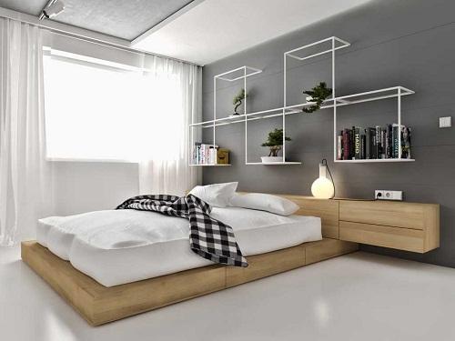 có nên ốp gạch tường phòng ngủ 7