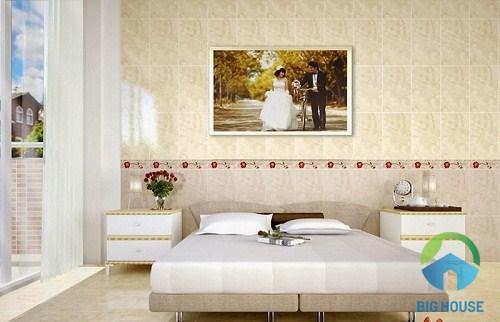 đá ốp tường phòng ngủ