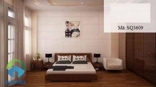gạch ốp tường trang trí phòng ngủ viglacera