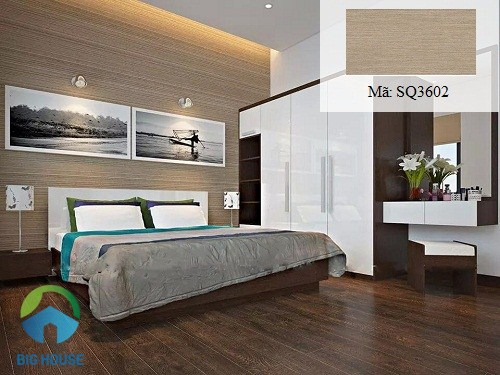 Gạch Viglacera SQ3602 với thiết kế vân gỗ tự nhiên đơn giản mang phong cách cổ điển
