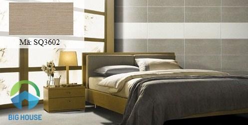 gạch Viglacera SQ3602 mang đến nét nhẹ nhàng cho phòng ngủ