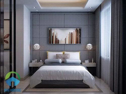 Sử dụng gạch ốp tường có kích thước phù hợp với diện tích không gian để tạo độ hài hòa